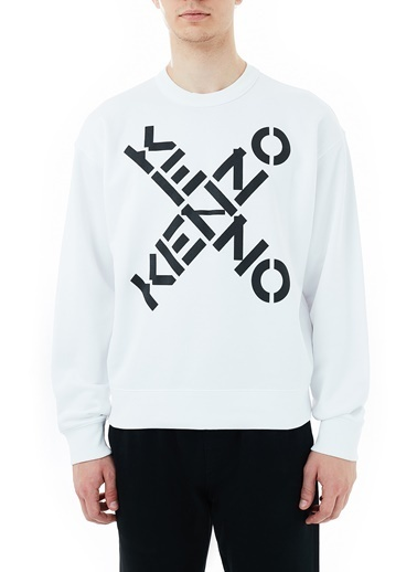 Kenzo Sweatshirt Beyaz